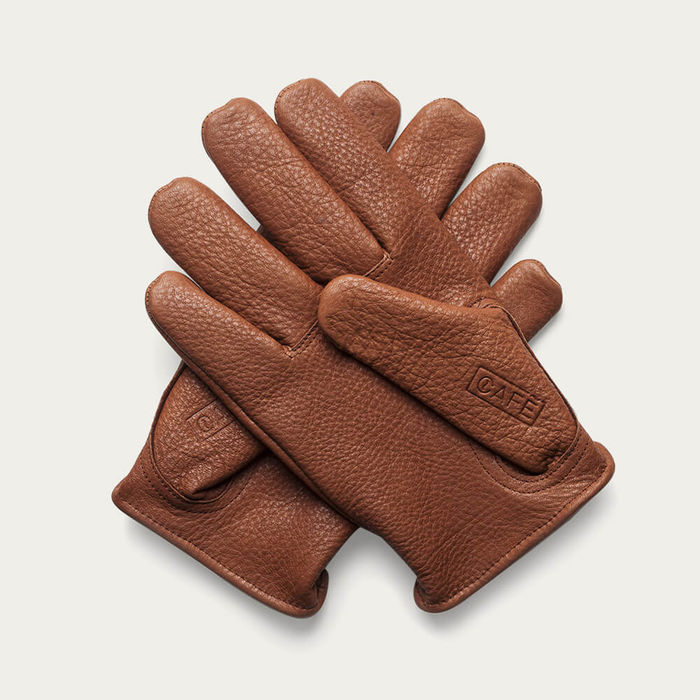 Roasted Deerskin Gloves with Kevlar Lining | Bombinate