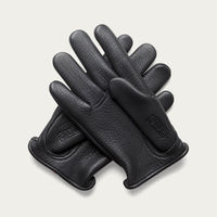 Black Elkskin Gloves | Bombinate
