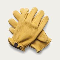 Cream Elkskin Gloves | Bombinate