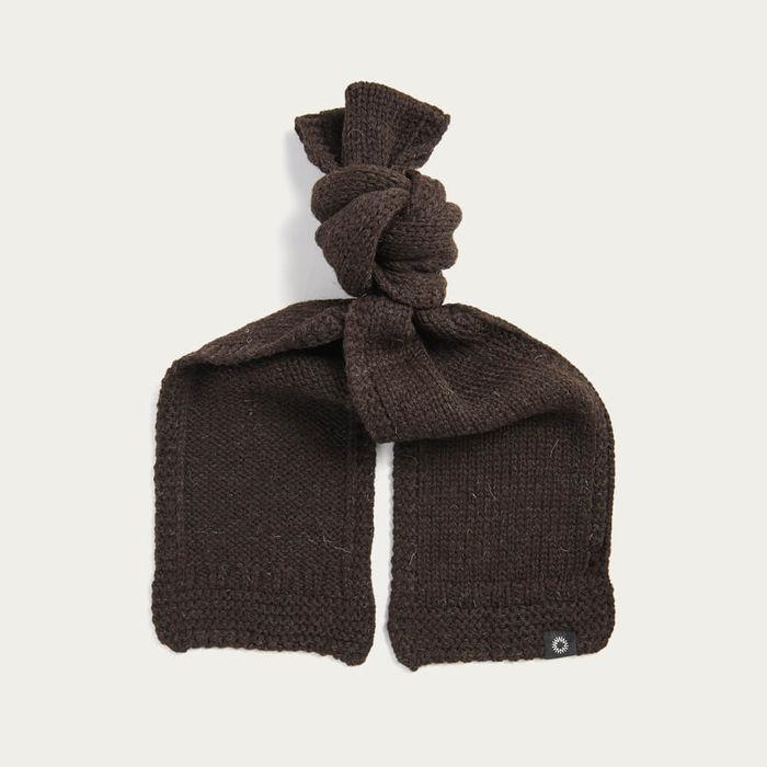 Brown Soft Wash Wool Scarf | Bombinate