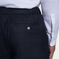 Navy The 24 Trouser Wool | Bombinate