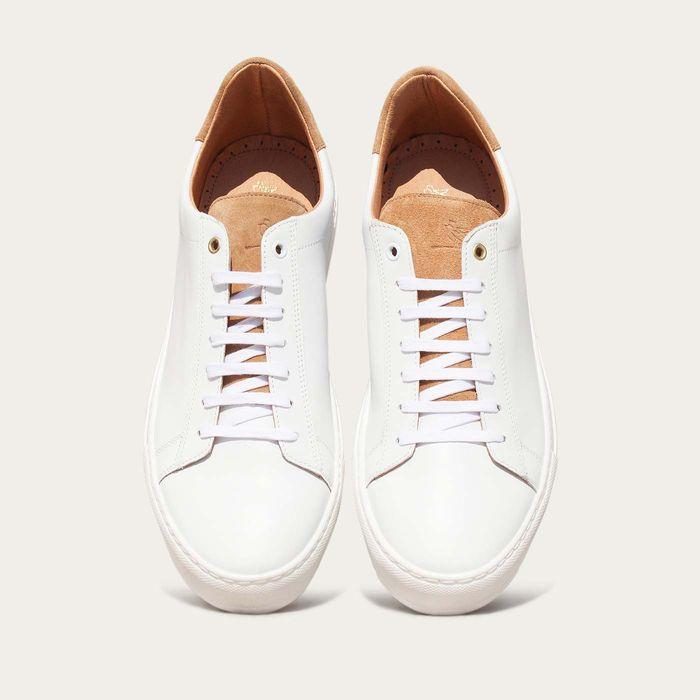 White Sand Calf Taranta Sneakers  | Bombinate