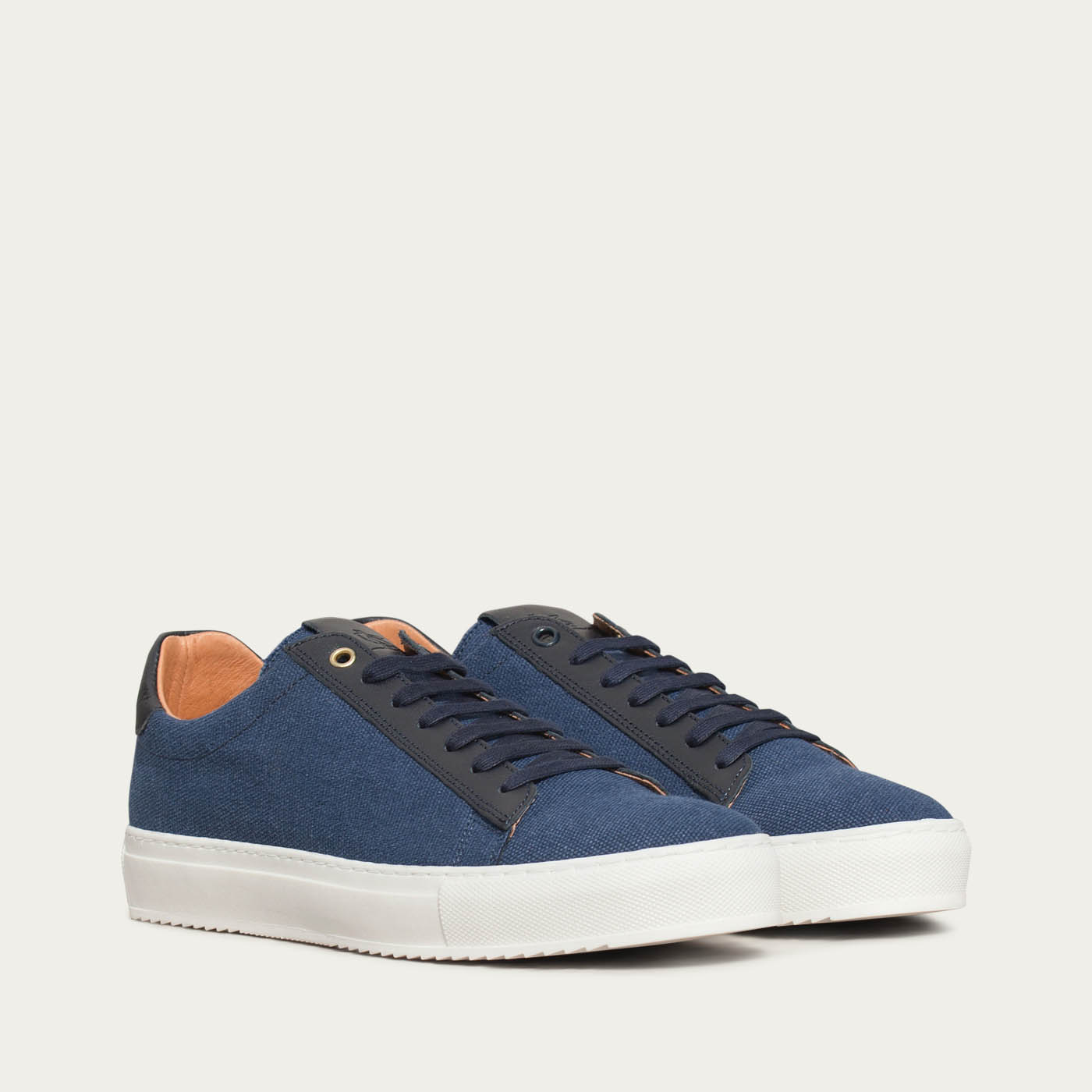 Blue Denim Canvas Taranta Sneakers | Bombinate