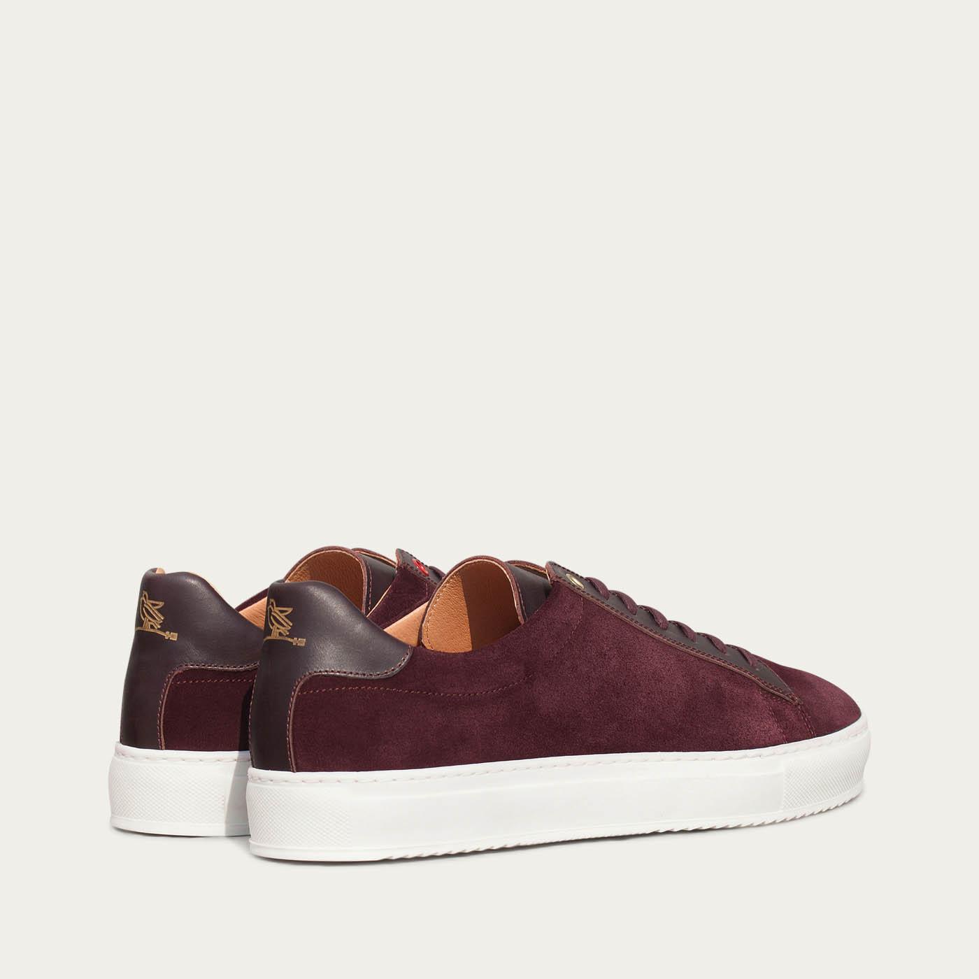 Burgundy Taranta Sneakers  | Bombinate