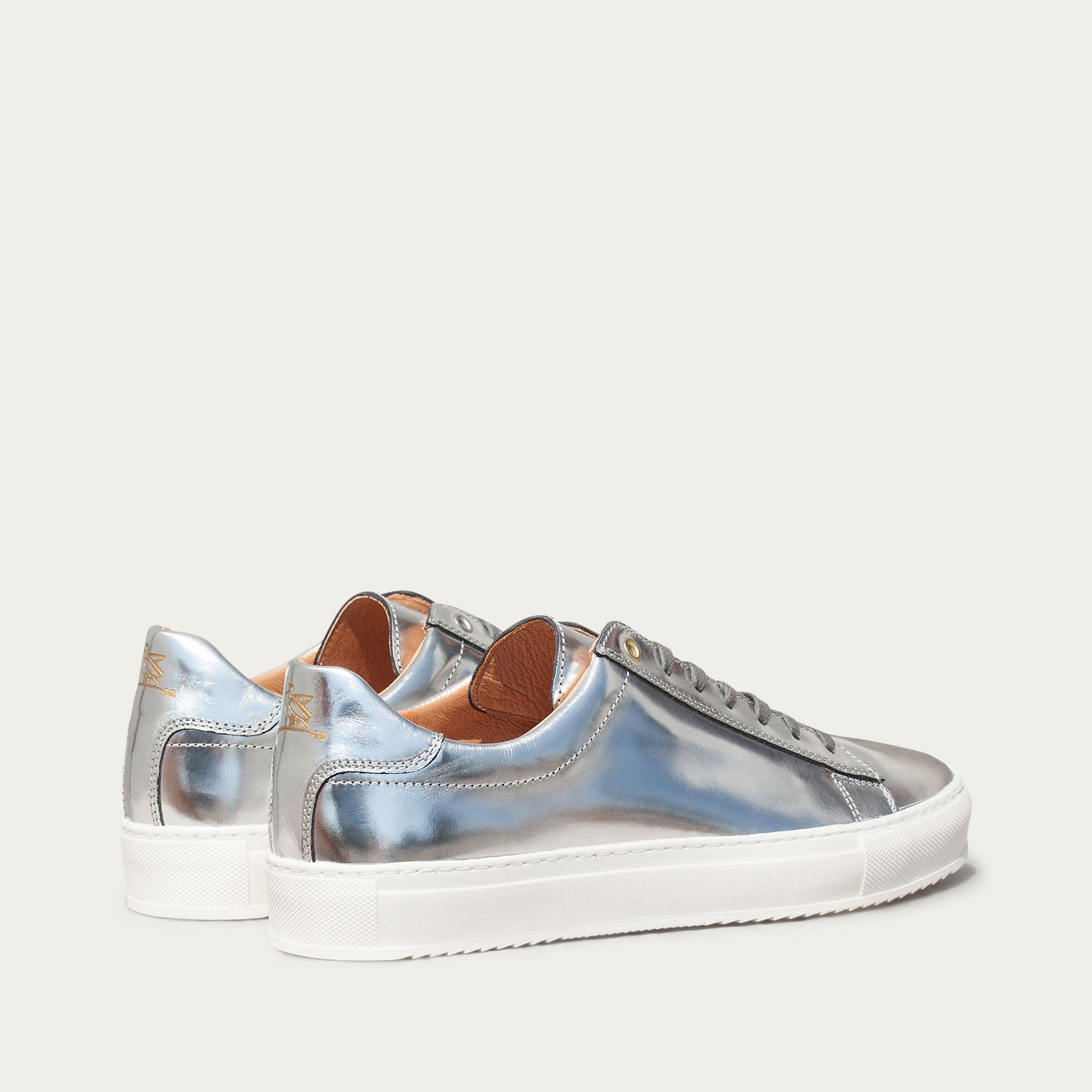 Mirror Leather Taranta Sneakers 1