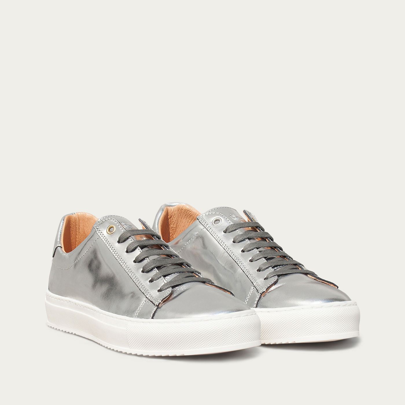 Mirror Leather Taranta Sneakers 3