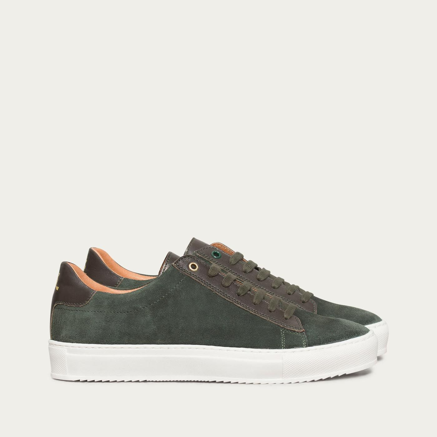 Pine Tree Green Taranta Sneakers | Bombinate