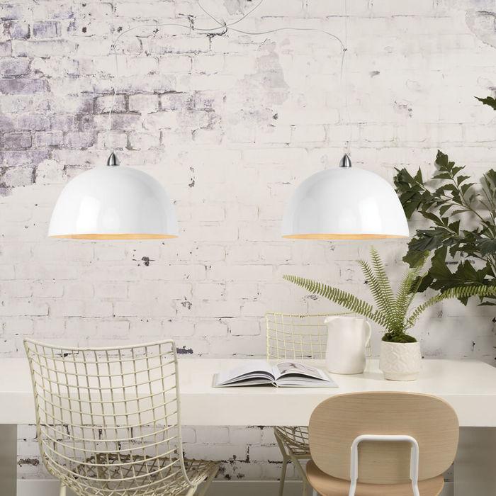 White Halong Bamboo Hanging Lamp | Bombinate