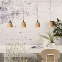 Sequoia Woodchips Hanging Lamp | Bombinate