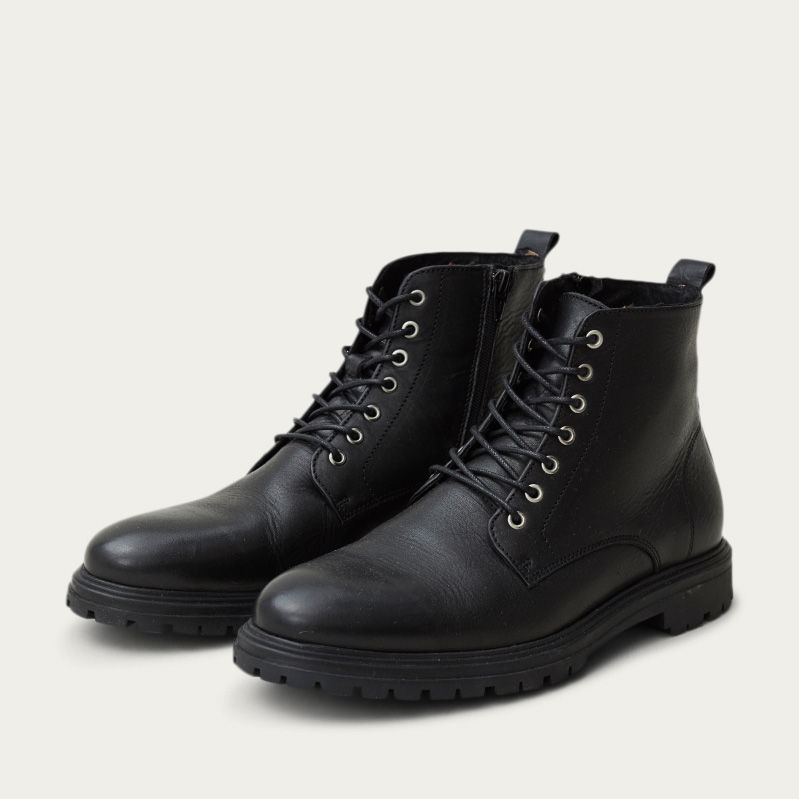 Black Dean Boots  | Bombinate