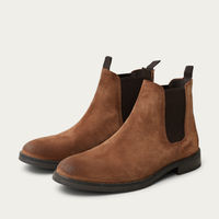 Cognac Chelsea Boots  | Bombinate