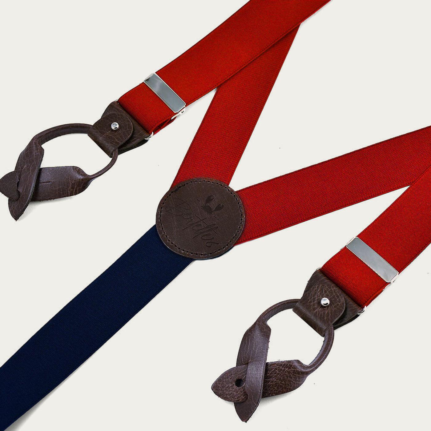 Red Superior Braces     Bombinate