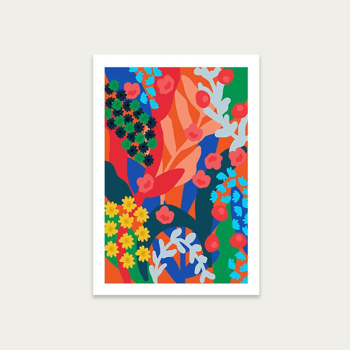 You're a Flower Art Print Unframed | Bombinate