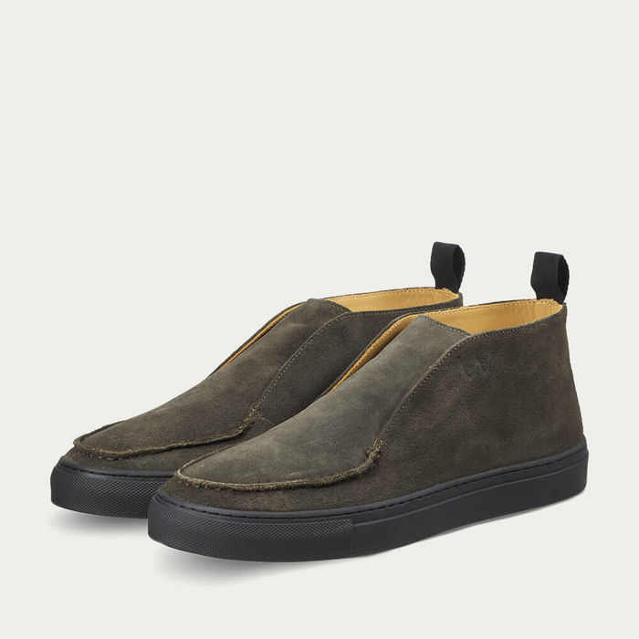 Deep Green Jenkins Sneaker | Bombinate