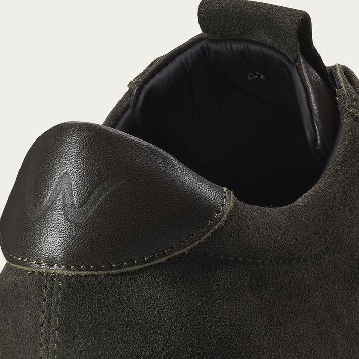 Deep Green Cartes Retro Tennis Sneaker | Bombinate
