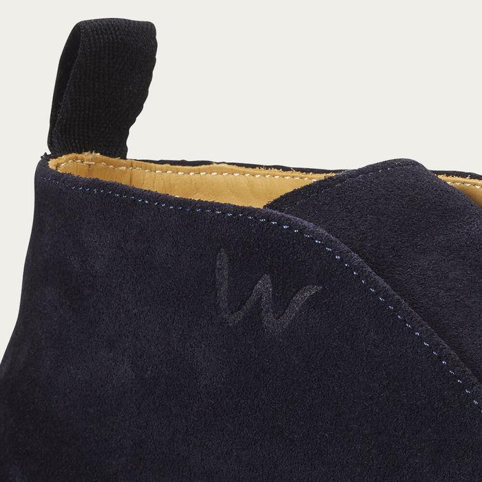 Night Blue Jenkins Sneaker | Bombinate