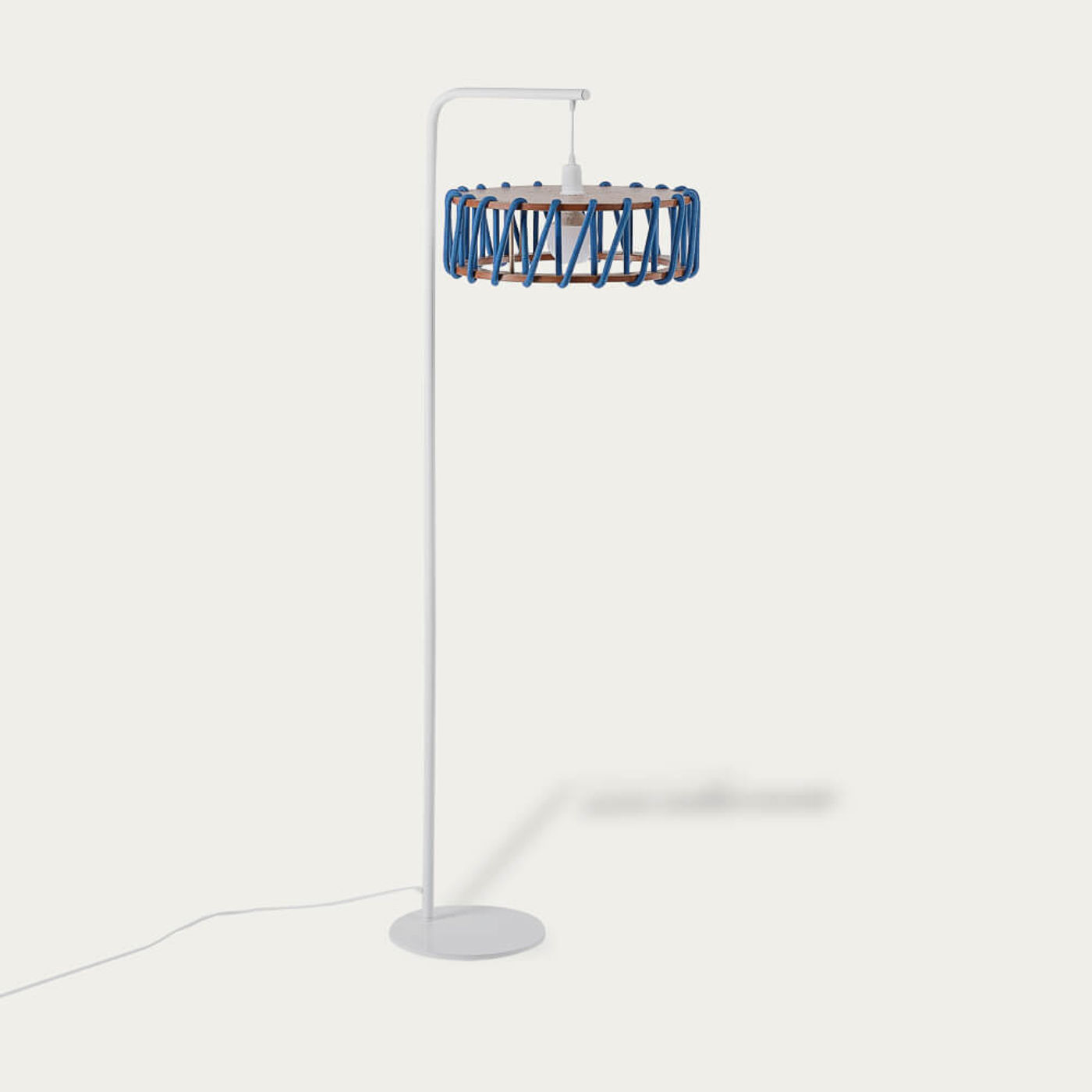 Blue Macaron Floor Lamp D45 | Bombinate