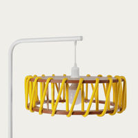 Yellow Macaron Floor Lamp D45 | Bombinate