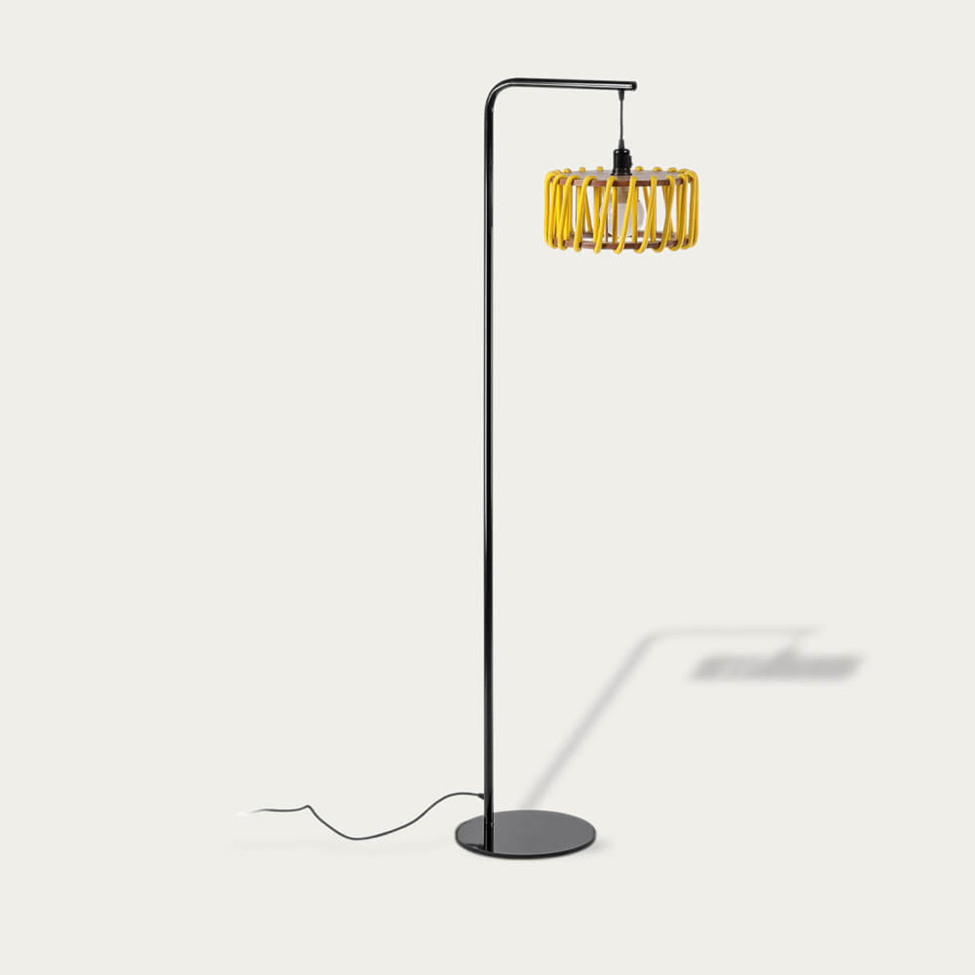 Yellow Macaron Floor Lamp | Bombinate