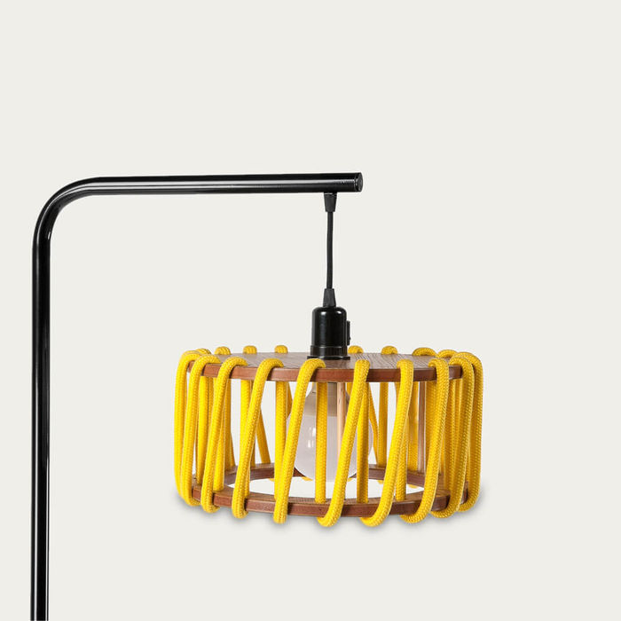 Yellow Macaron Floor Lamp | Bombinate