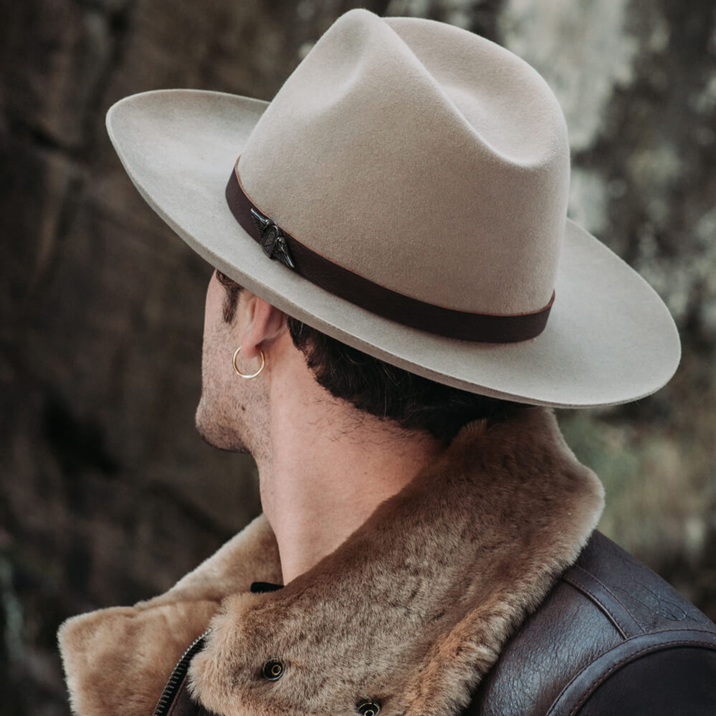Beige Furia Western Hat | Bombinate