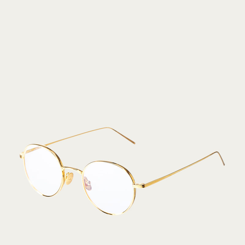 Gold Optical Ulster Glasses | Bombinate