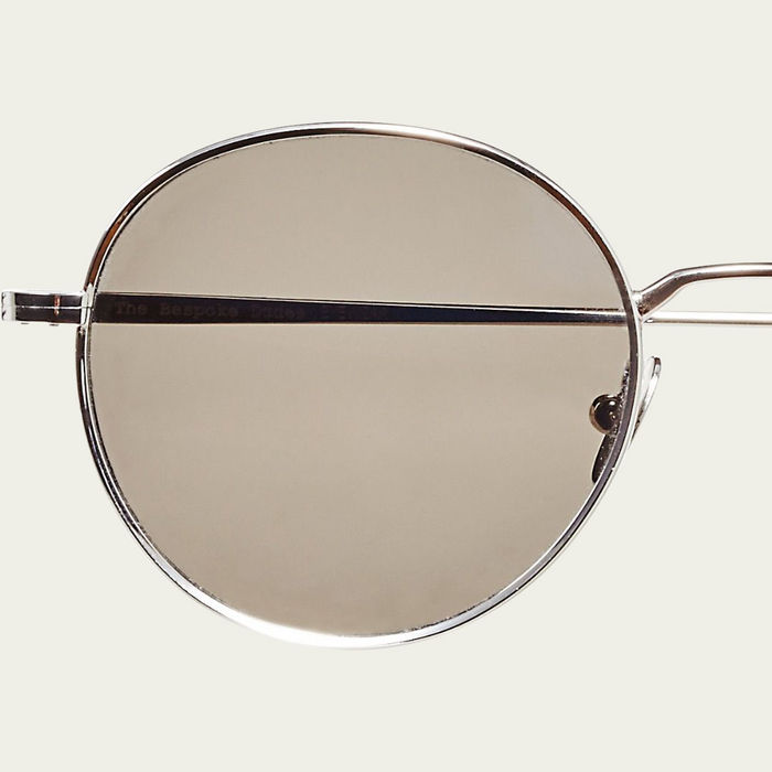 Rhodium / Gradient Grey Ulster Sunglasses | Bombinate