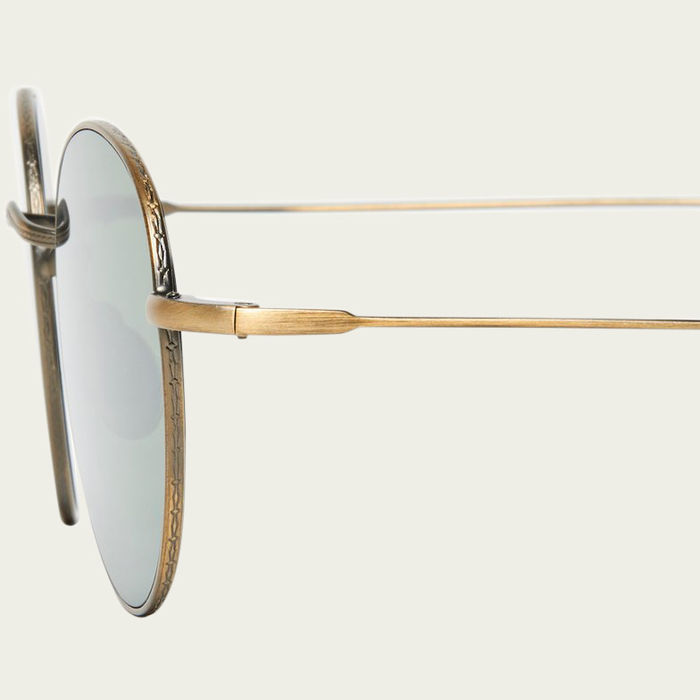 Brass / Bottle Green Vicuna Sunglasses  | Bombinate
