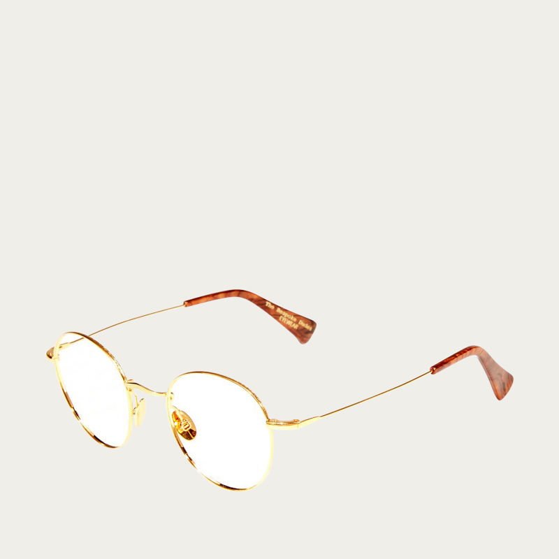 Gold Optical Vicuna Glasses | Bombinate