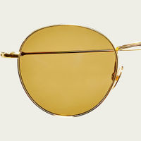 Gold / Tobacco Vicuna Sunglasses | Bombinate
