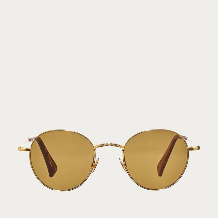 Gold / Tobacco Vicuna Sunglasses | Bombinate