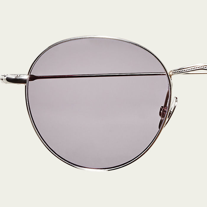 Rhodium / Gradient Grey Vicuna Sunglasses | Bombinate