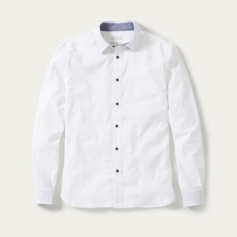 White MIE Chambray Shirt | Bombinate