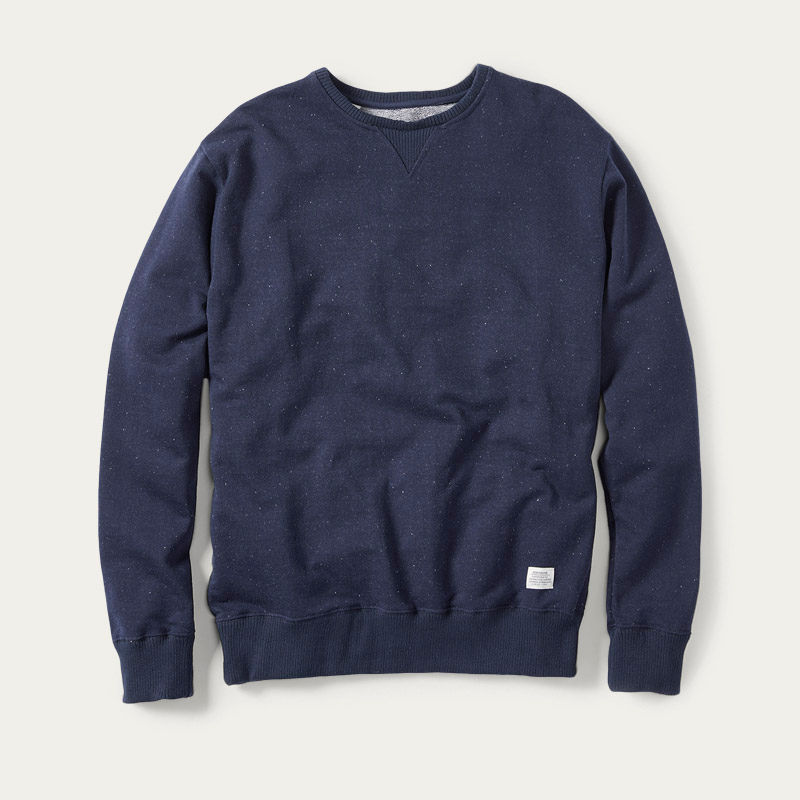 Navy Milton Sweatshirt | Bombinate