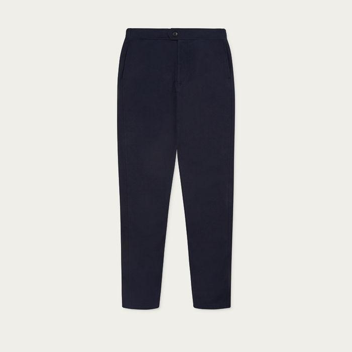 Navy Travel Trouser  | Bombinate