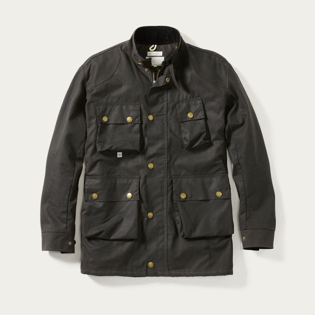 Gunmetal Baxter Jacket | Bombinate