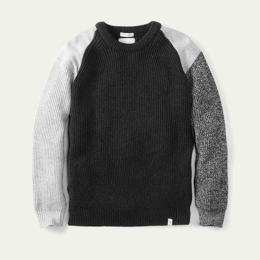 Charcoal Funky Jumper  | Bombinate