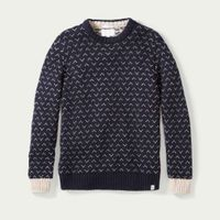 Navy Larsen Jumper  | Bombinate