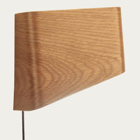 White Oak Slices LED Wall Reading Lamp | Bombinate