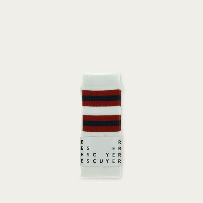 Off White / Bossa Nova Unisex Tube Socks   Bombinate