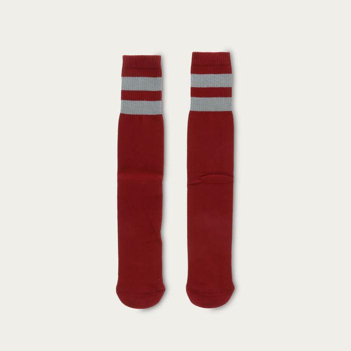 Red / Wrought Iron Unisex Tube Socks | Bombinate