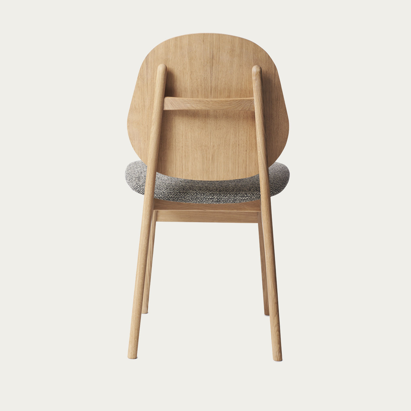 Oak/Graphic Sprinkles Noble Dining Chair   Bombinate