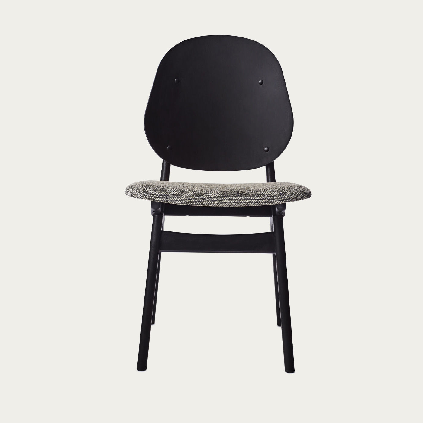 Black/Graphic Sprinkles Noble Dining Chair | Bombinate