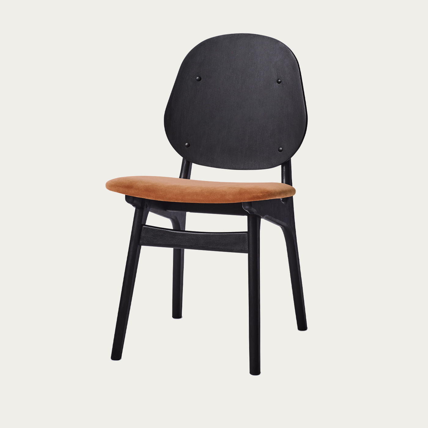 Black/Rusty Rose Noble Dining Chair | Bombinate