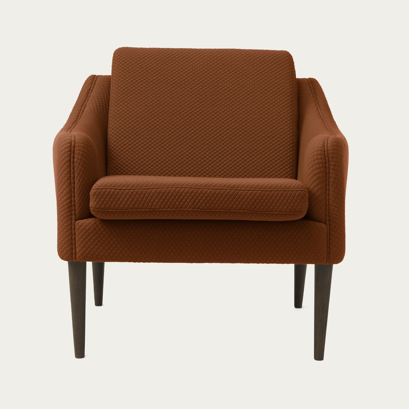 Spicy Brown Mr. Olsen Lounge Chair | Bombinate
