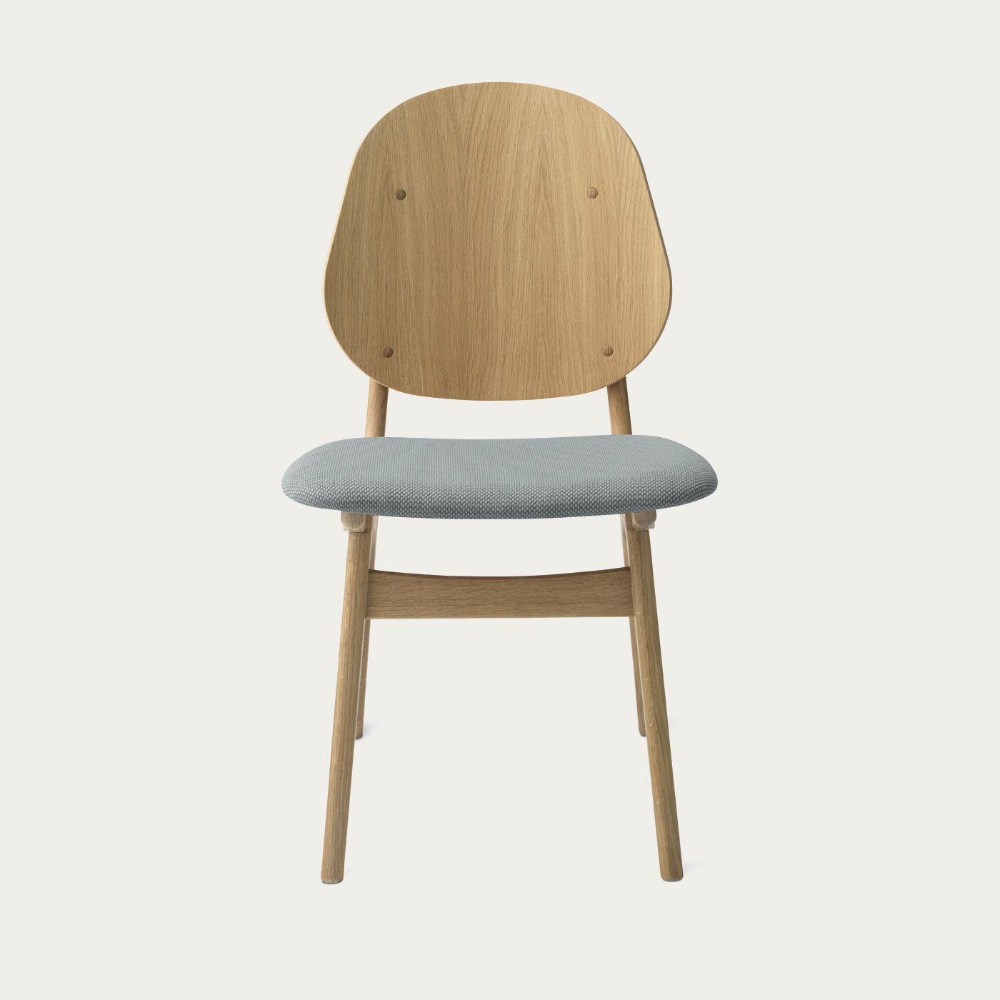 Oak/Minty Grey Noble Dining Chair   Bombinate