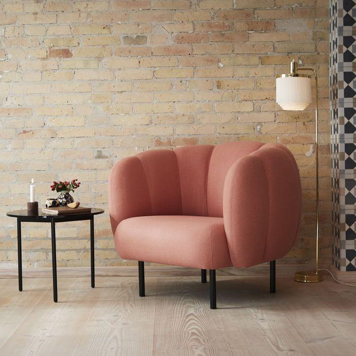 Blush Cape Lounge Chair   Bombinate
