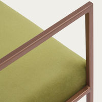 Apple Green Cube Armchair Copper | Bombinate