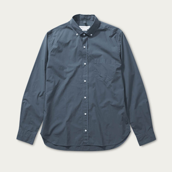 Steel Button-Down Pocket Shirt | Bombinate