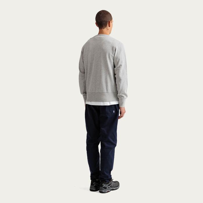 Grey Melange Duck Head Cotton Sweatshirt | Bombinate